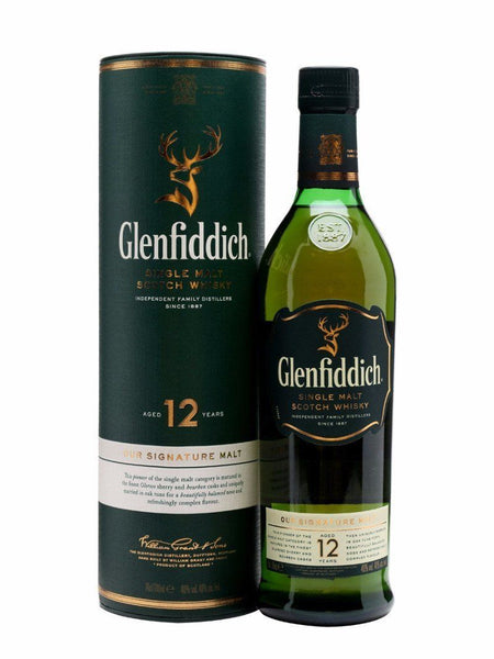 Grocemania Grocery Delivery London| Glenfiddich 12 Year Old Malt Whisky 70cl