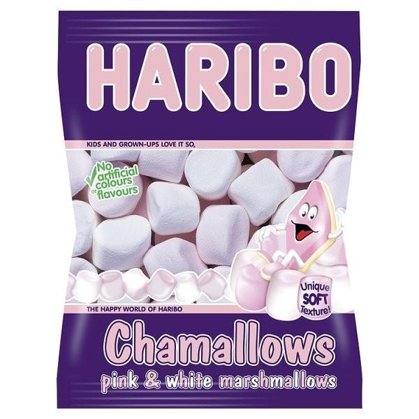 Grocemania Grocery Delivery London| Haribo Chamallows 140g