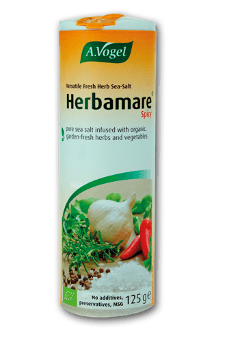 Grocemania Same Day Grocery Delivery London | A.Vogel Herbamare Spicy Seasoning Salt 125g