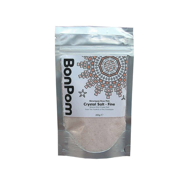 Grocemania Grocery Delivery London| BonPom Himalayan Pink Salt Fine 200g