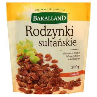 Grocery Delivery London - Bakkaland Rodzynki sultanskie same day delivery
