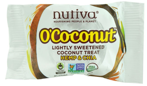Grocemania Grocery Delivery London| Nutiva O'Coconut Hemp & Chia