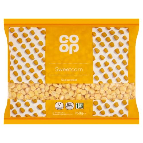 Grocery Delivery London - Co-op Frozen Sweetcorn 750g same day delivery