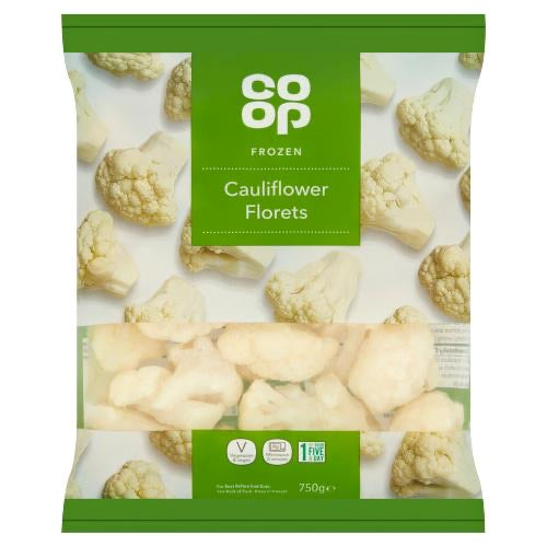 Grocery Delivery London - Co-op Cauliflower Florets 750g same day delivery