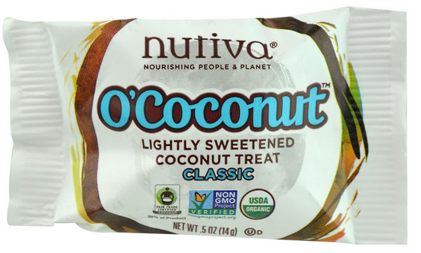Grocemania Grocery Delivery London| Nutiva O'Coconut Classic