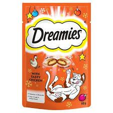 Grocemania Grocery Delivery London| Dreamies Cat Treats With Chicken 60g