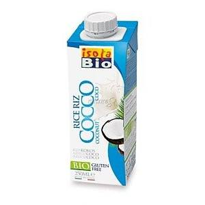 Grocery Delivery London - Isola Bio Rice and Coconut Drink 250ml same day delivery