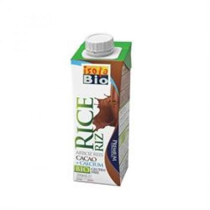 Grocery Delivery London - Isola Bio Rice and Cocoa Drink 250ml same day delivery