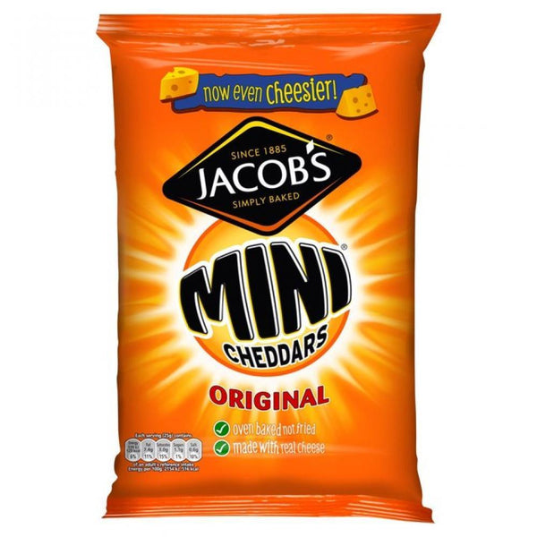 Grocery Delivery London - Jacobs Mini Cheddars 25g same day delivery