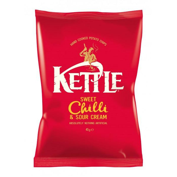 Grocery Delivery London - Kettle Sweet Chilli 40g same day delivery