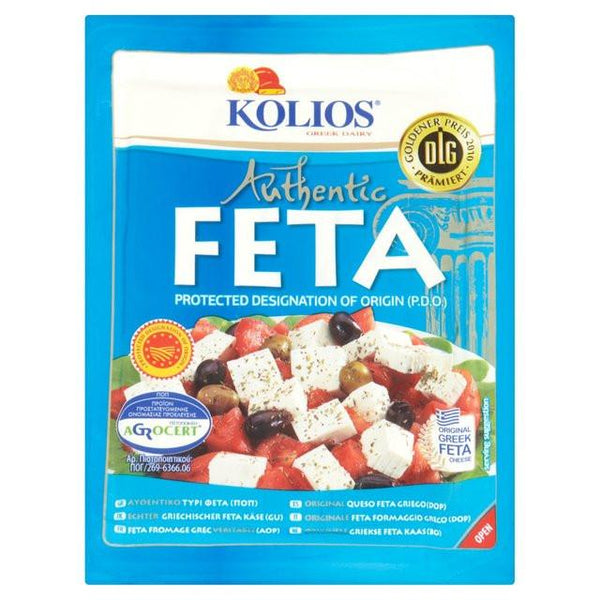 Grocemania | Kolios Feta Cheese 200g | Online Grocery Delivery London