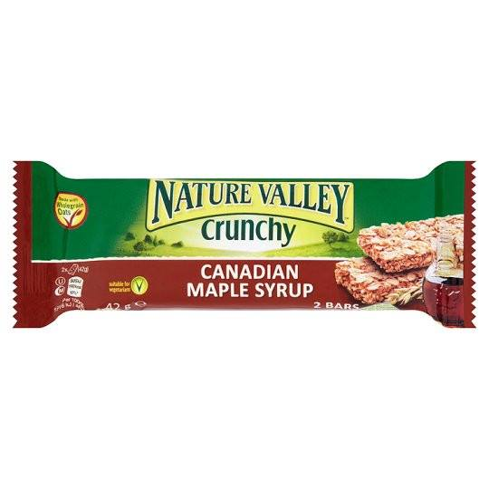 Grocery Delivery London - Nature Valley Crunchy Canadian Maple Syrup 42g same day delivery