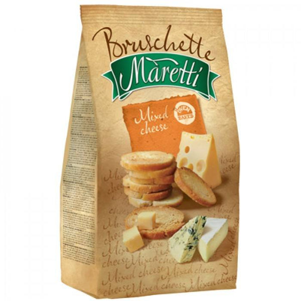 Grocemania Grocery Delivery London| Bruschette Maretti Mixed Cheese