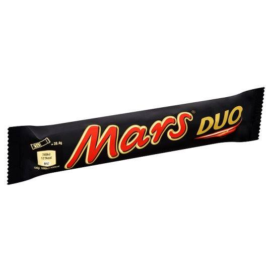 Grocery Delivery London - Mars Duo 78.8g same day delivery