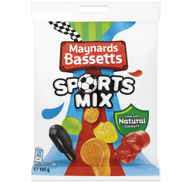 Grocemania Grocery Delivery London| Maynards Bassetts Sports Mix 165g