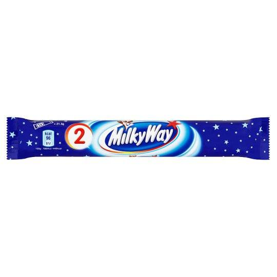 Grocery Delivery London - Milky Way Twin Pack 43.8g same day delivery