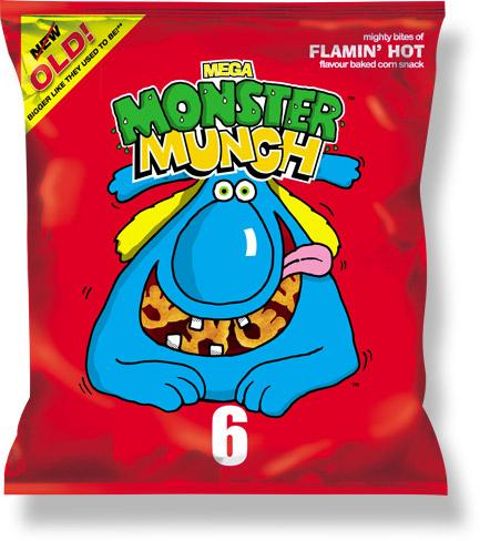 Grocery Delivery London - Monster Munch Spicy 68g same day delivery