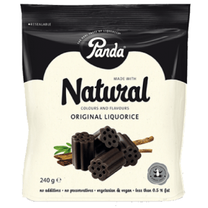 Grocery Delivery London - Natural Original Liquorice 240g same day delivery