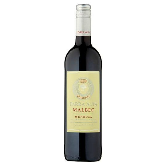Grocery Delivery London - Parra Alta Malbec 750ml same day delivery