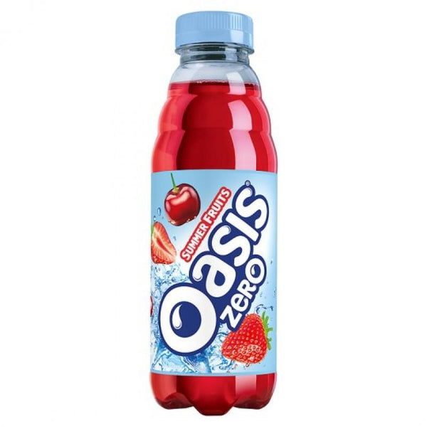 Grocery Delivery London - Oasis Summer Fruits Zero 500ml same day delivery