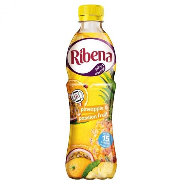 Grocemania Grocery Delivery London| Ribena Pineapple & Passion Fruit 500ml