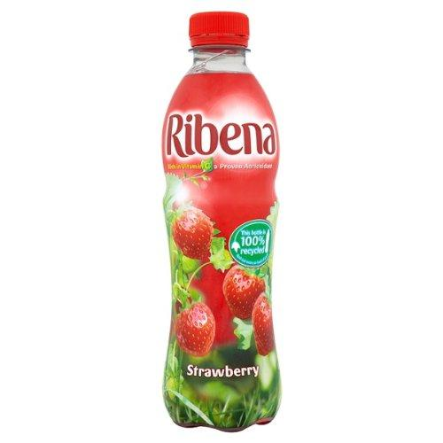 Grocery Delivery London - Ribena Strawberry 500ml same day delivery