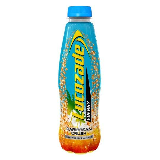 Grocemania Grocery Delivery London| Lucozade Energy The Caribbean Crush 500ml