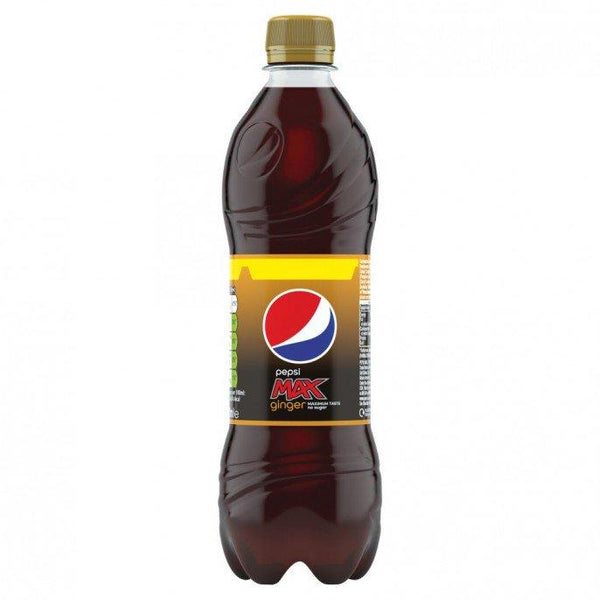 Grocemania Grocery Delivery London| Pepsi Max Ginger 500ml