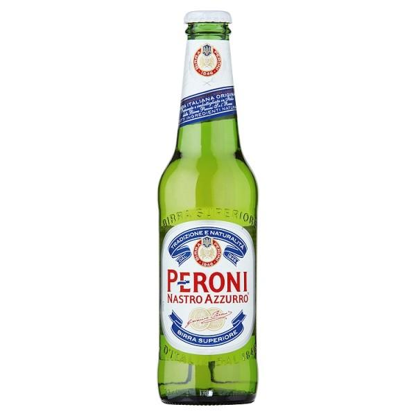 Grocery Delivery London - Peroni Nastro Azzurro 330ml same day delivery