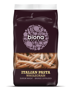 Grocemania Grocery Delivery London| Biona Organic Wholegrain Italian Pasta Penne 500g