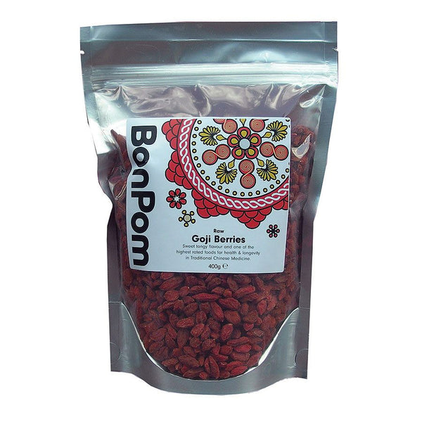 Grocemania Grocery Delivery London| BonPom Goji Berries 400g