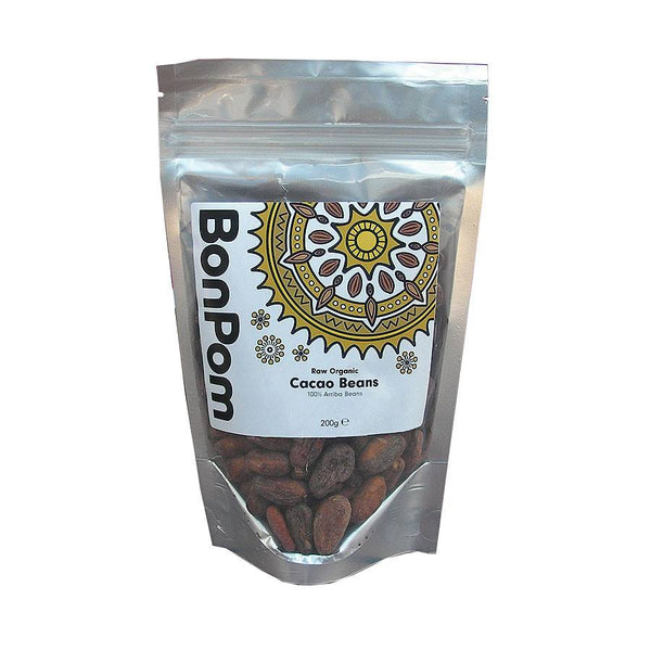 Grocery Delivery London - Raw Organic Cacao Beans 200g same day delivery