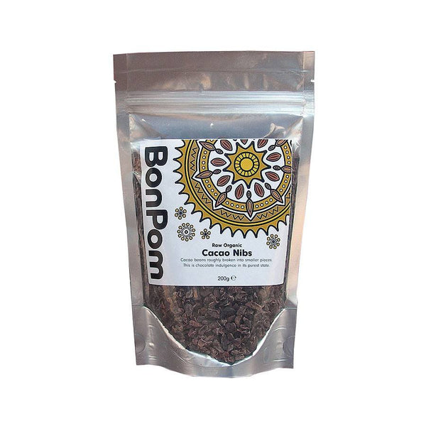 Grocemania Same Day Grocery Delivery London | BonPom Cacao Nibs 200g