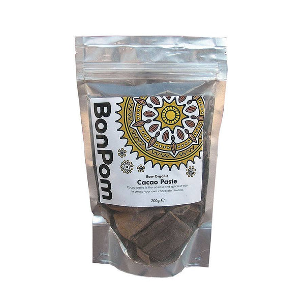 Grocery Delivery London - BonPom Cacao Paste 200g same day delivery