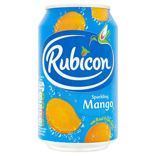 Grocemania Grocery Delivery London| Rubicon Sparkling Mango 330ml