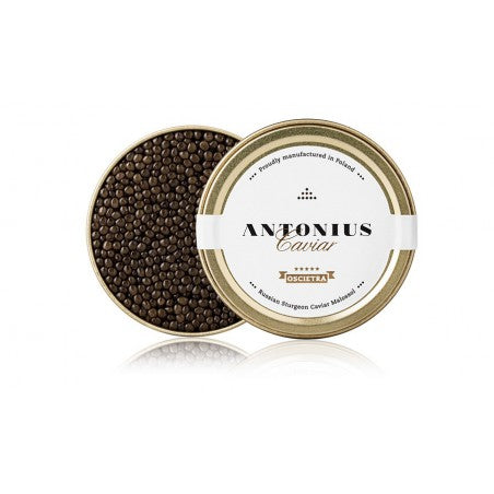 Grocery Delivery London - Russian Sturgeon Caviar (Acipenser Gueldenstae) 250g same day delivery