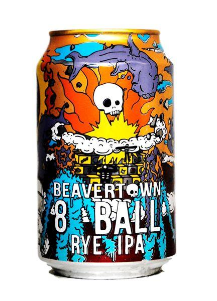 Grocery Delivery London - Beavertown 8 Ball Rye IPA 330ml same day delivery