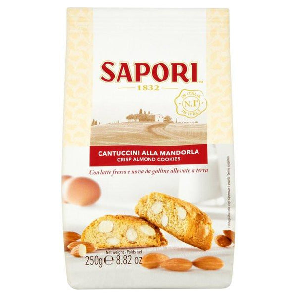 Grocery Delivery London - Sapori Cantuccini Mandorla 250g same day delivery