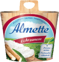 Grocemania Grocery Delivery London| Almette z Chrzanem