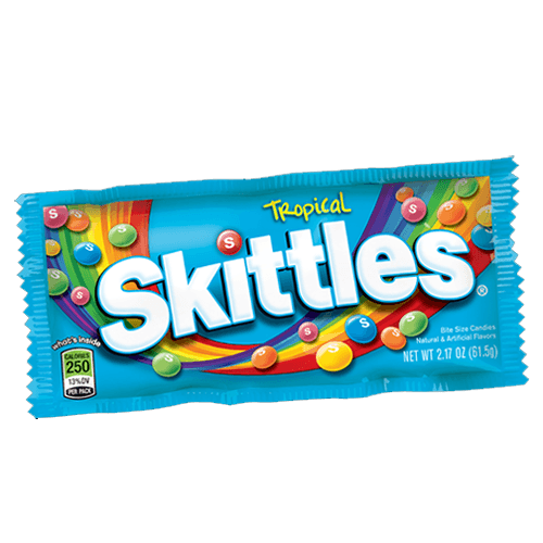 Grocery Delivery London - Skittles Tropical 55g same day delivery