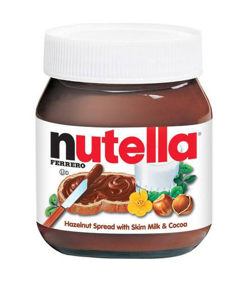 Grocemania Grocery Delivery London| Nutella Hazelnut Chocolate Spread 400g