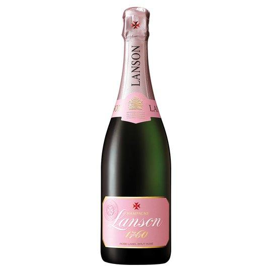 Grocery Delivery London - Lanson Rose Champagne 75cl same day delivery