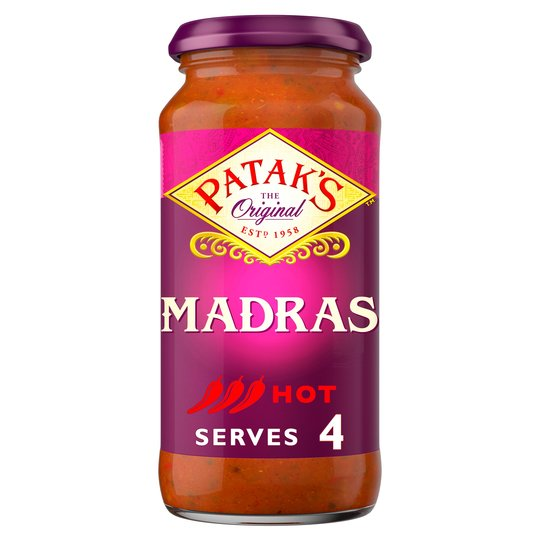 Grocery Delivery London - Patak's Madras Sauce 450g same day delivery