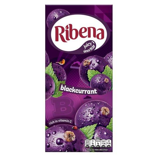 Grocemania Grocery Delivery London| Ribena Blackcurrant 1L