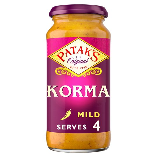 Grocery Delivery London - Patak's Korma Curry Sauce 450g same day delivery