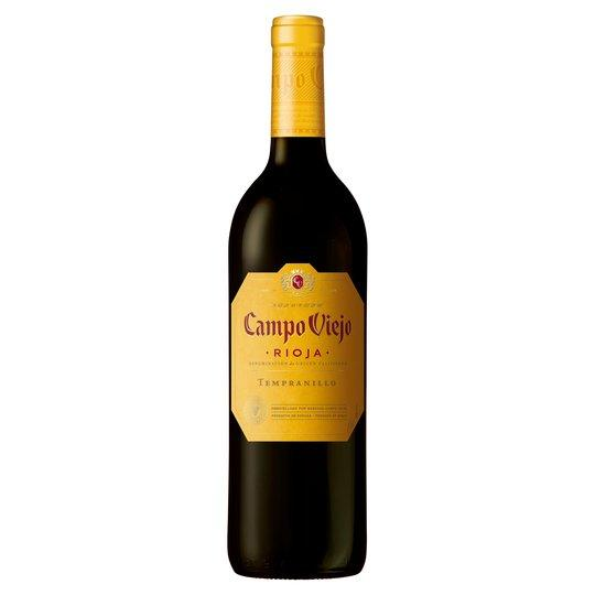 Grocemania Grocery Delivery London| Campo Viejo Rioja Tempranilllo 750ml