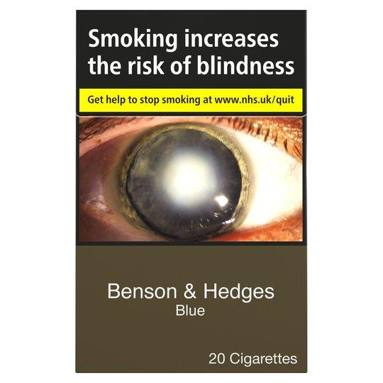 Grocery Delivery London - Benson & Hedges Blue King Size 20 Pack same day delivery