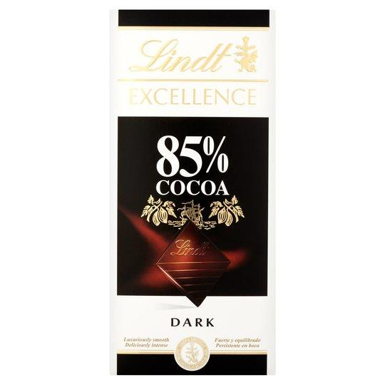 Grocery Delivery London - Lindt 85% Cocoa 100g same day delivery