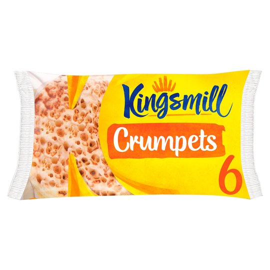 Grocery Delivery London - Kingsmill Crumpets 6pk same day delivery