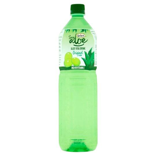 Grocery Delivery London - Grace Aloe Vera Drink Original 1.5L same day delivery